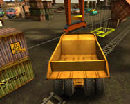 Skill 3D parking radioactive rumble j�t�k